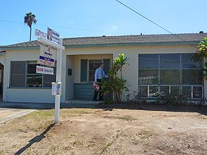 An example of a real estate owned property in ...